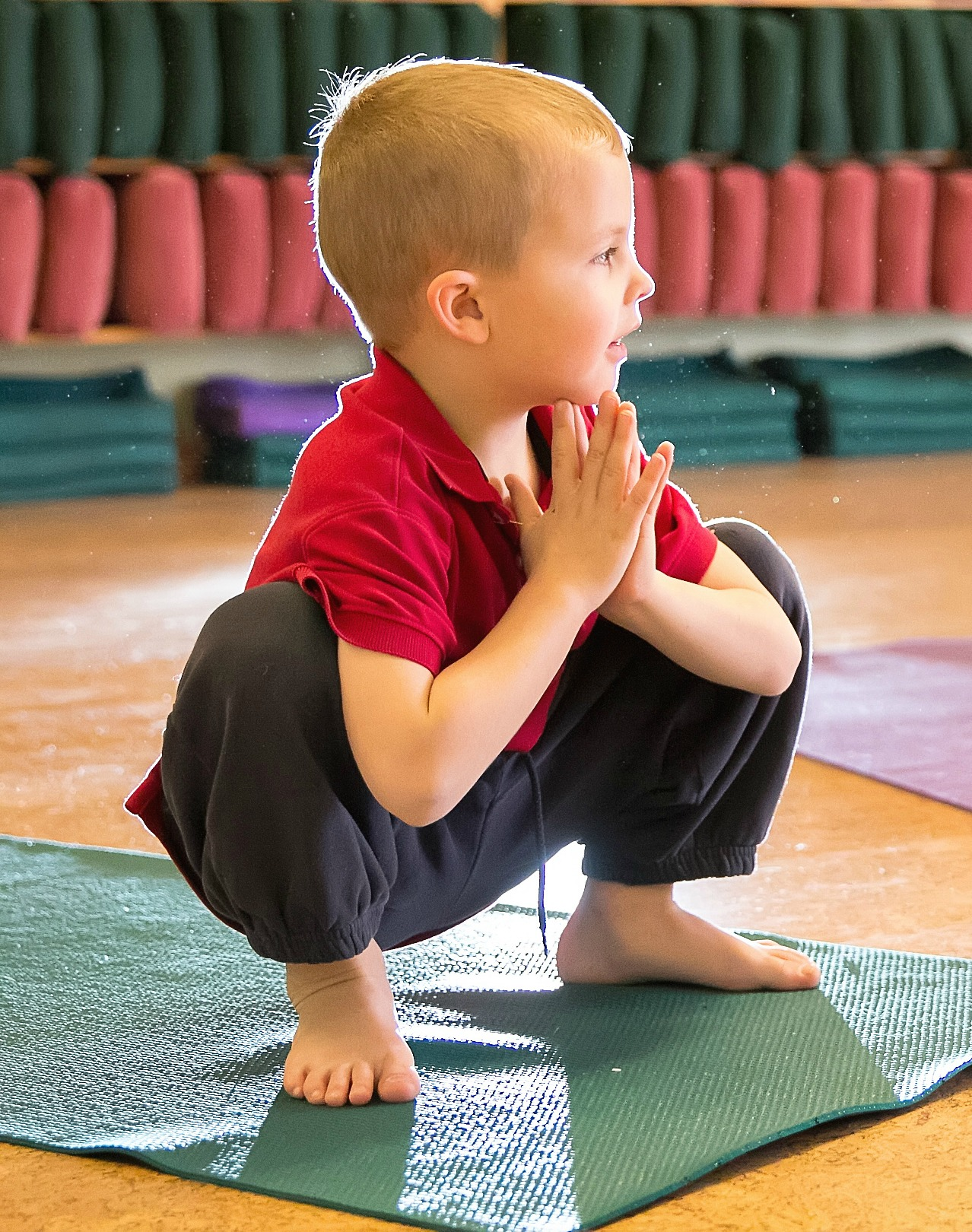 Kids Breath Laugh And Grow During Yoga Practice Alleycat Yoga