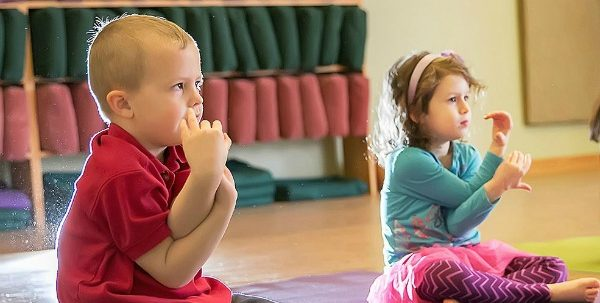 Yoga for Preschoolers Winter 2020 Saturday 9:30